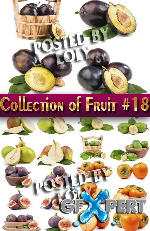 Food. Mega Collection. Fruit #18 - Stock Photo