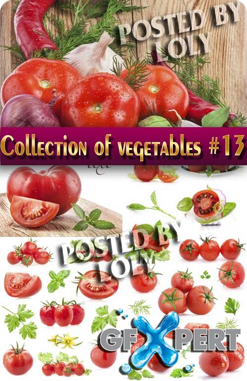 Food. Mega Collection. Vegetables #13 - Stock Photo