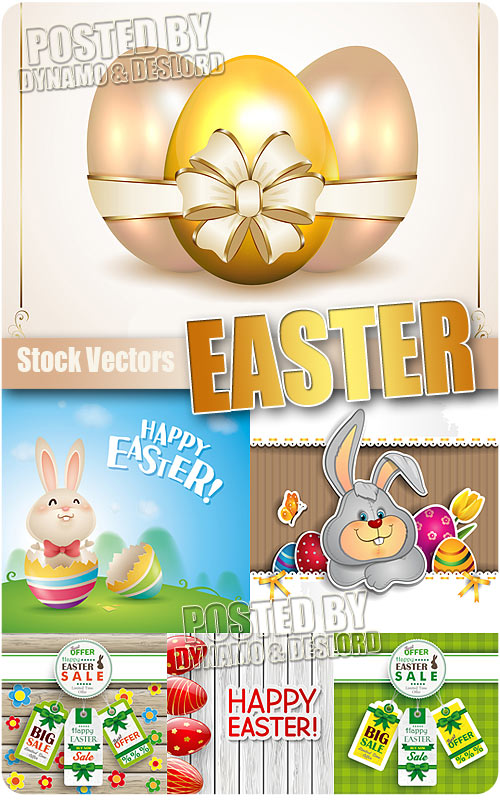 Easter 2 - Stock Vectors