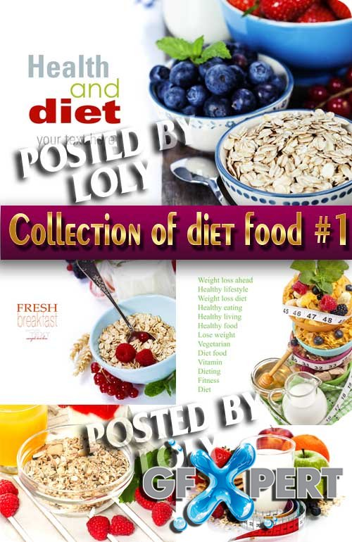 Food. Mega Collection. Dietary food # 1 - Stock Photo