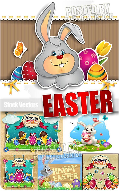 Easter 3 - Stock Vectors