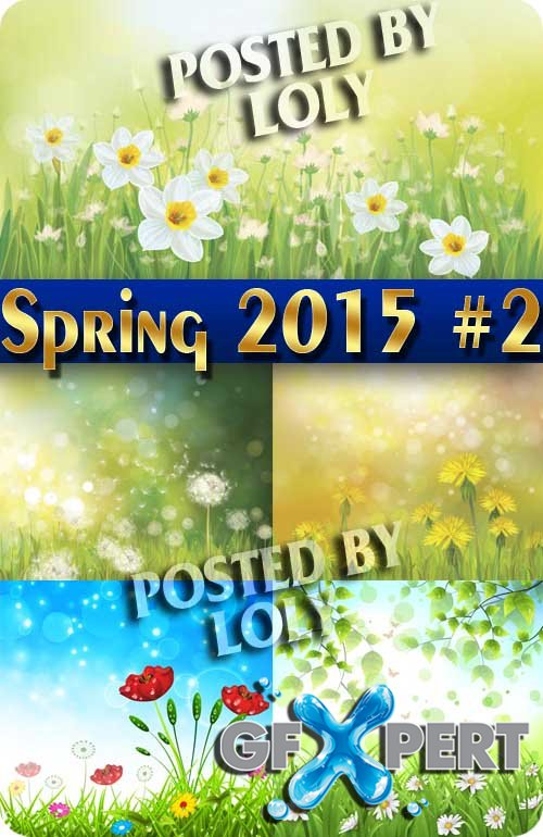 Nature spring #2 - Stock Vector