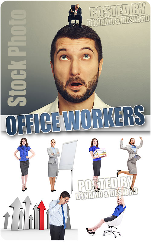Office workers - UHQ Stock Photo