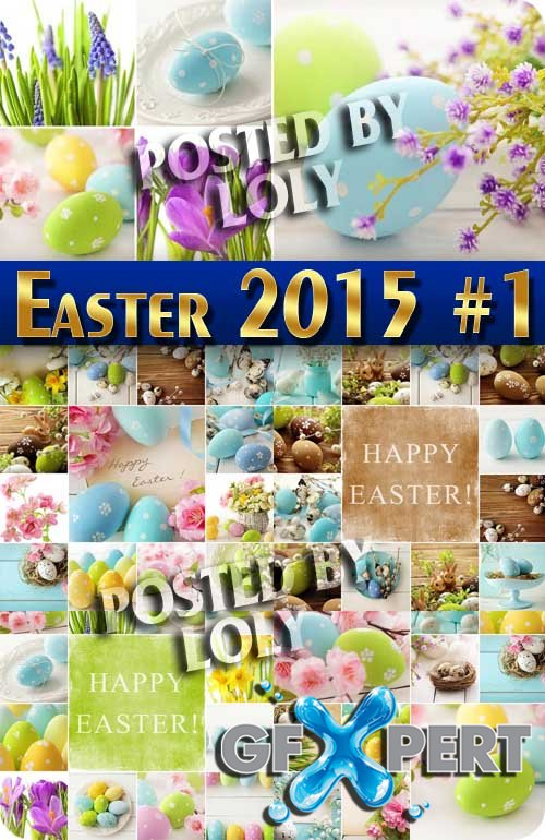 Easter 2015 #1 - Stock Photo