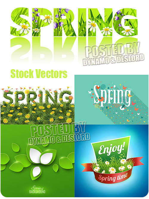 Spring concept - Stock Vectors