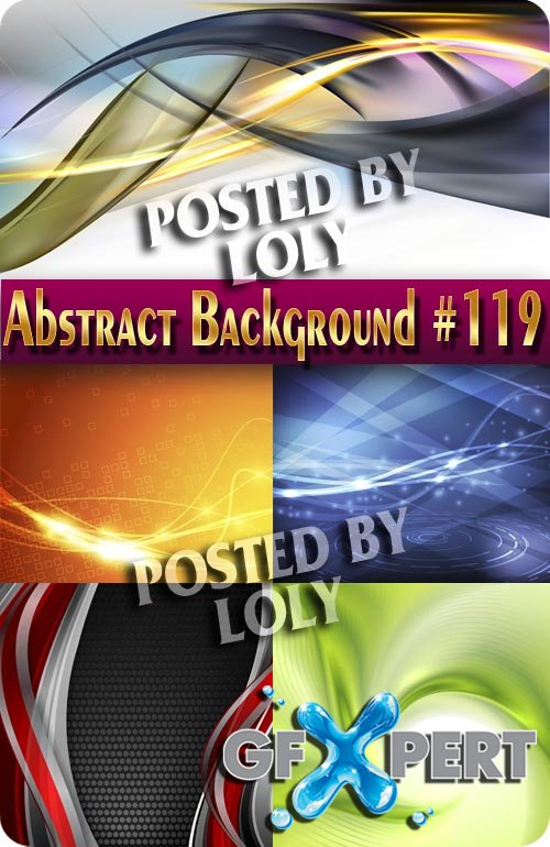 Vector Abstract Backgrounds #119 - Stock Vector