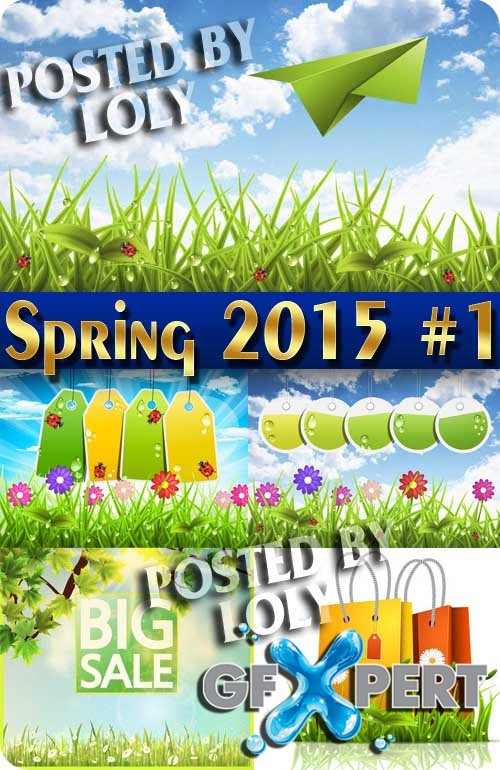 Nature spring #3 - Stock Vector