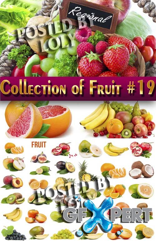 Food. Mega Collection. Fruit #19 - Stock Photo