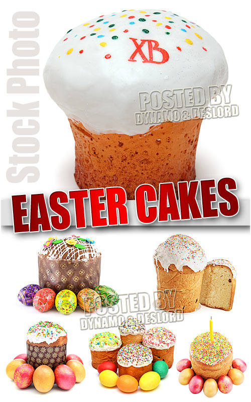 Easter Cakes - UHQ Stock Photo