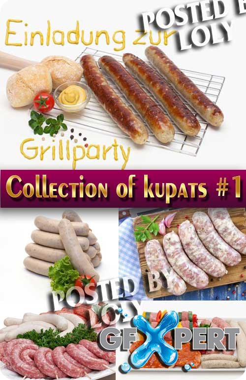 Food. Mega Collection. Kupaty #1 - Stock Photo