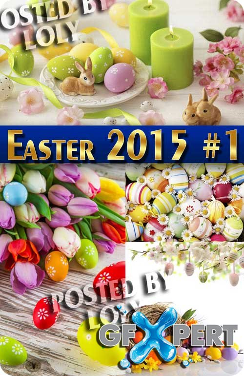 Easter 2015 #2 - Stock Photo