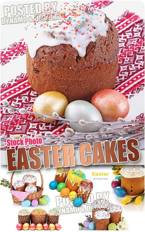 Easter cakes 2 - UHQ Stock Photo