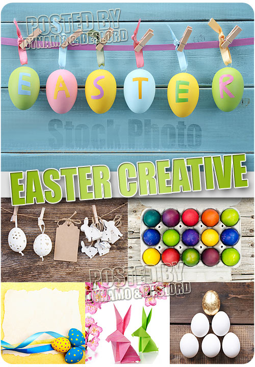 Easter creative - UHQ Stock Photo