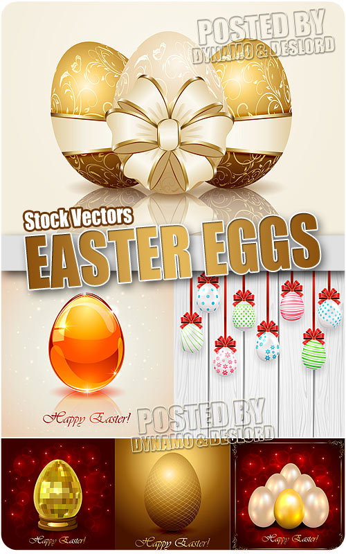 Easter eggs - Stock Vectors