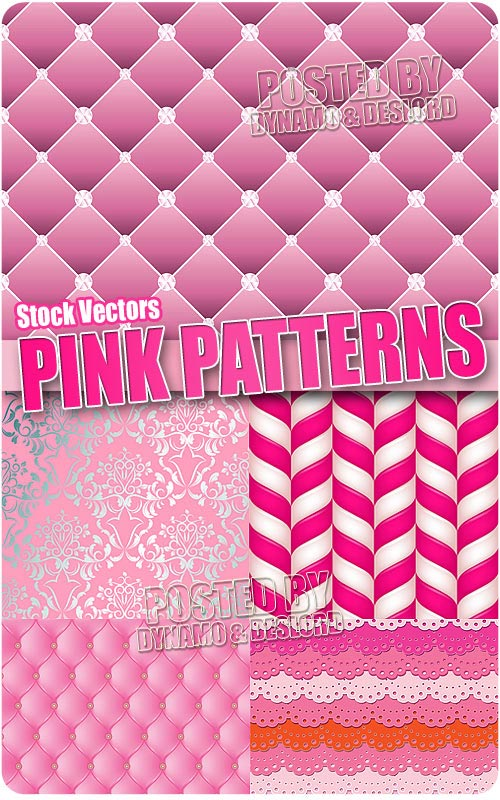 Pink patterns - Stock Vectors