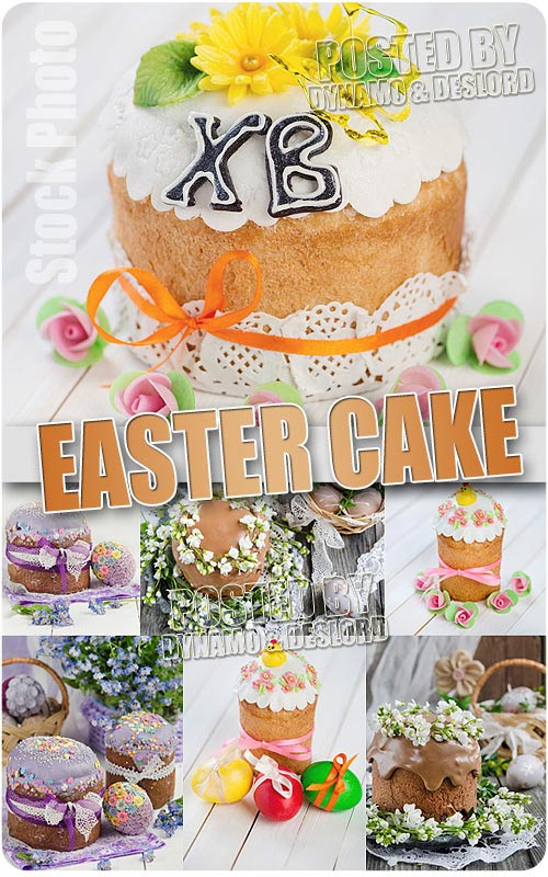Easter Cake 3 - UHQ Stock Photo
