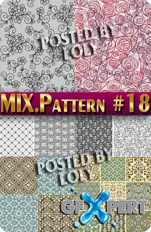 Mix Patterns #18 - Stock Vector