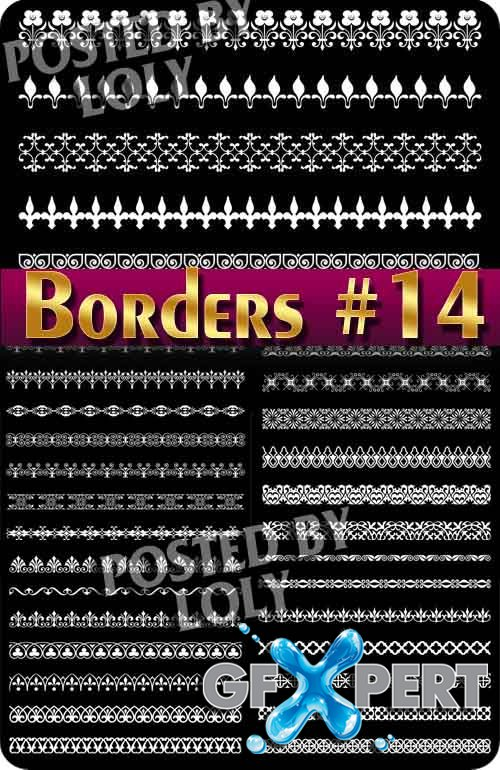 Vintage elements and borders #14  - Stock Vector