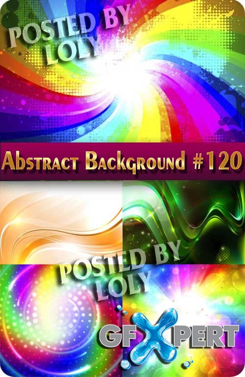 Vector Abstract Backgrounds #120 - Stock Vector