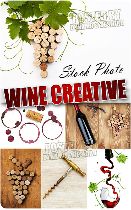 Wine creative - UHQ Stock Photo