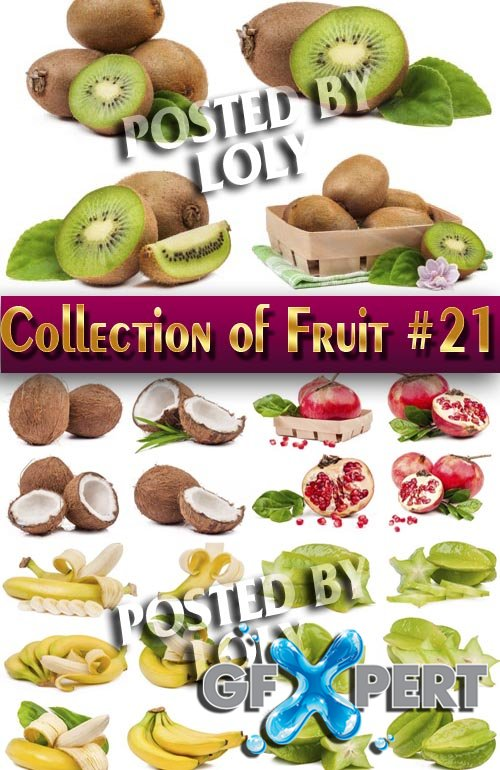 Food. Mega Collection. Fruit #21 - Stock Photo