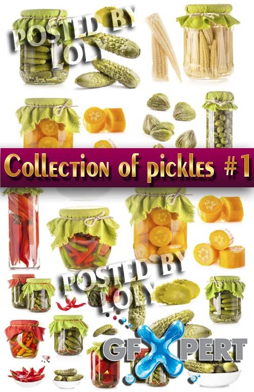 Food. Mega Collection. Pickles for the winter #3 - Stock Photo