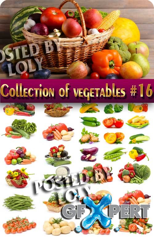 Food. Mega Collection. Vegetables #16 - Stock Photo