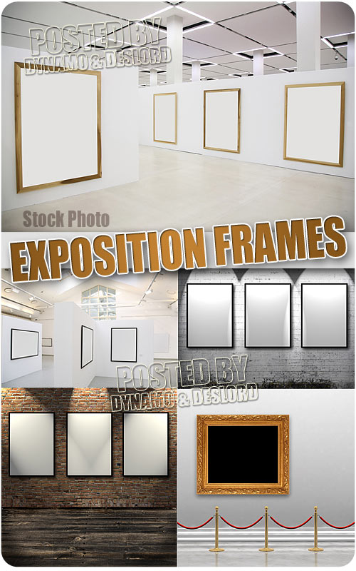 Expositions frames - UHQ Stock Photo