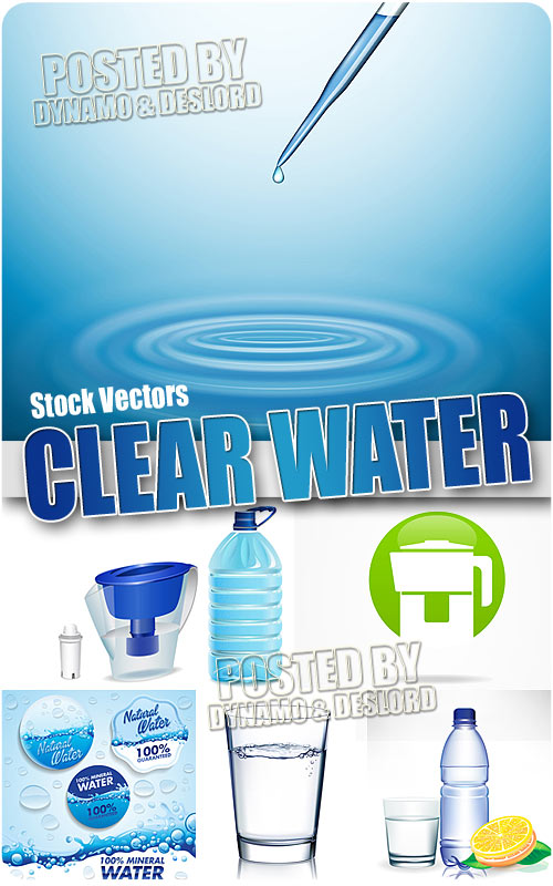Clear water - Stock Vectors