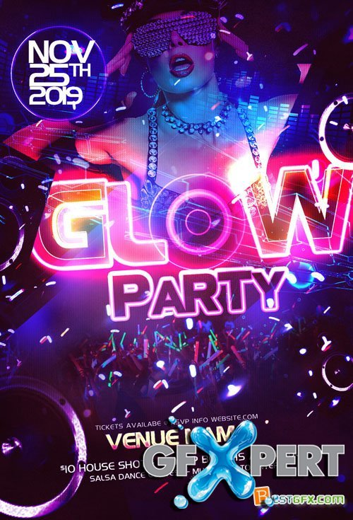 party flyer free template