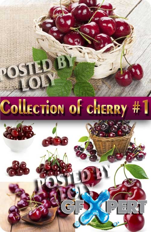 Food. Mega Collection. Cherry #1 - Stock Photo