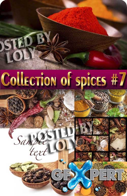 Food. Mega Collection. Spices #7 - Stock Photo
