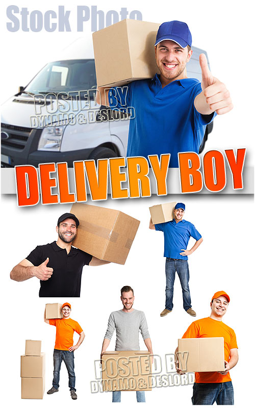 Delivery boy - UHQ Stock Photo