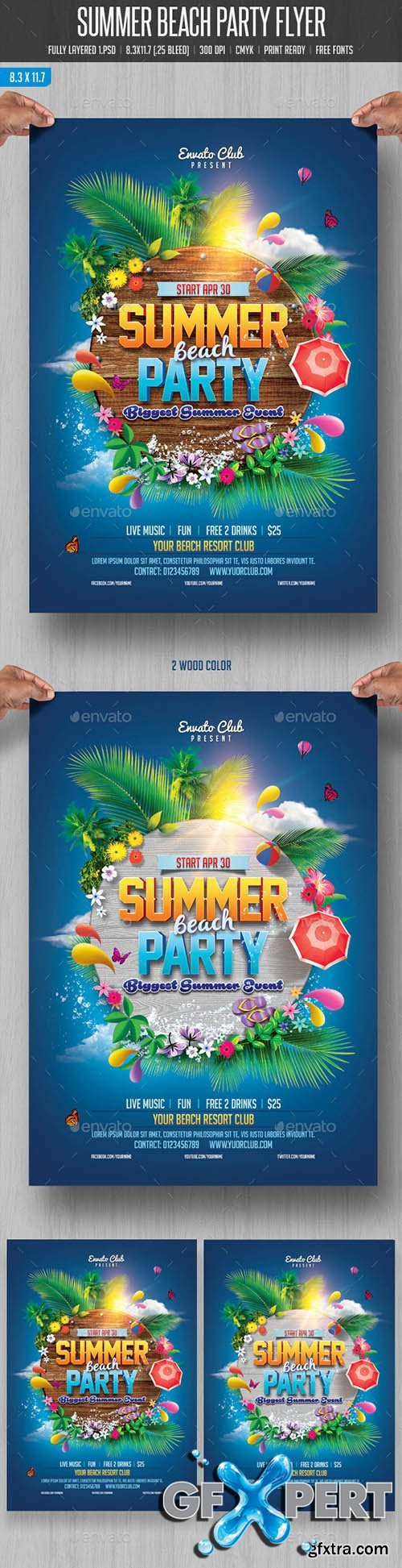 GraphicRiver - Summer Beach Party 10880683