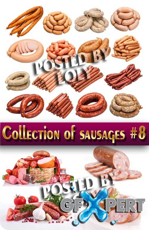 Food. Mega Collection. Sausages #8 - Stock Photo