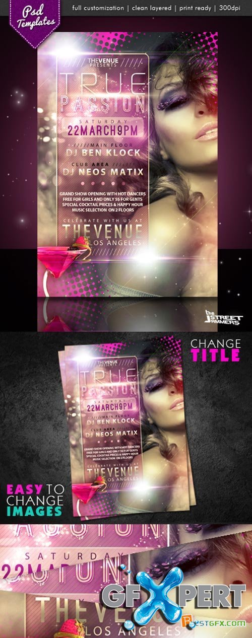 Flyer Template - True Passion