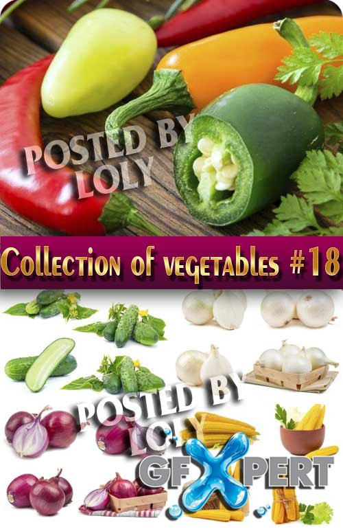Food. Mega Collection. Vegetables #18 - Stock Photo