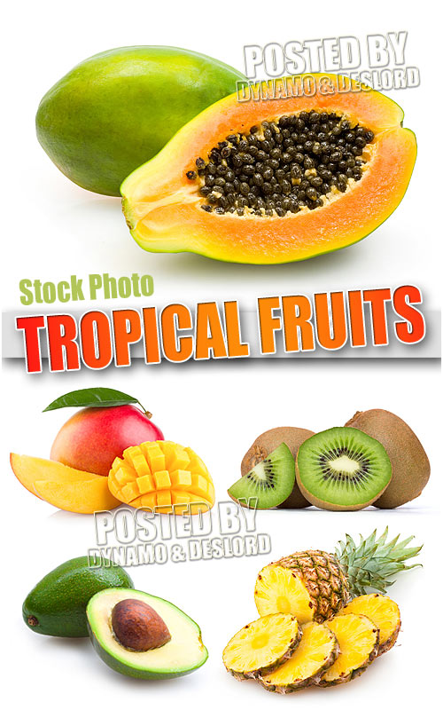 Tropical fruits - UHQ Stock Photo