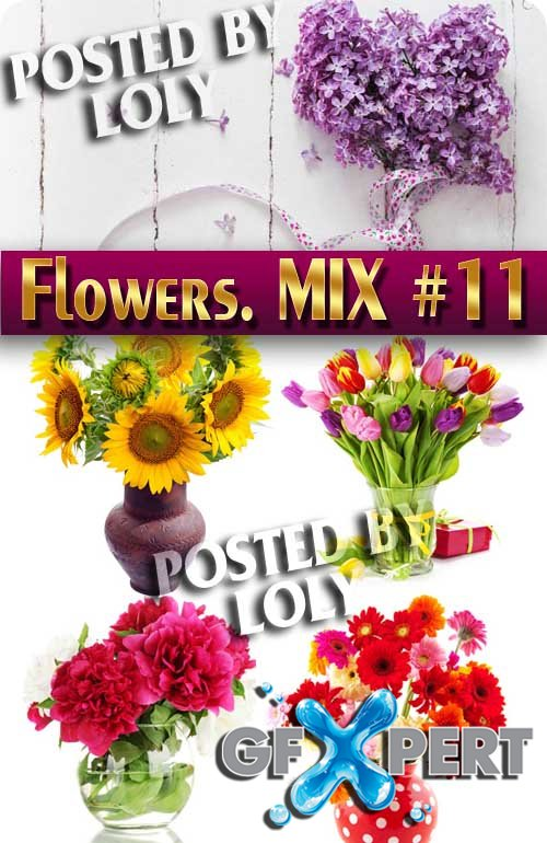 Flowers Mix #11 - Stock Photo