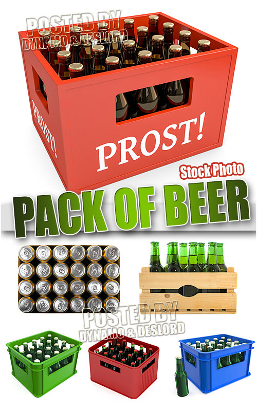 Pack of beer - UHQ Stock Photo