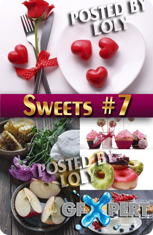 Sweets #7 - Stock Photo