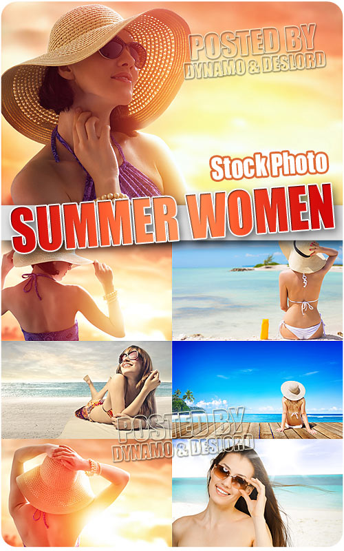 Summer women - UHQ Stock Photo