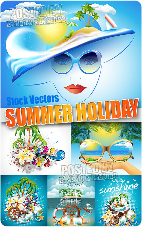 Summer Holiday - Stock Vectors