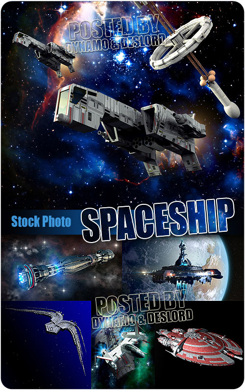 Spaceship - UHQ Stock Photo