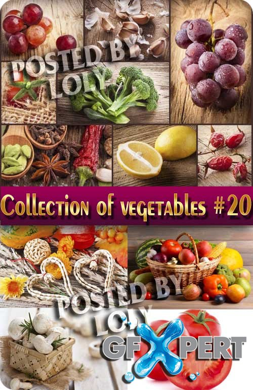 Food. Mega Collection. Vegetables #20 - Stock Photo