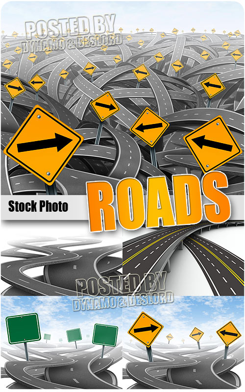 Roads - UHQ Stock Photo