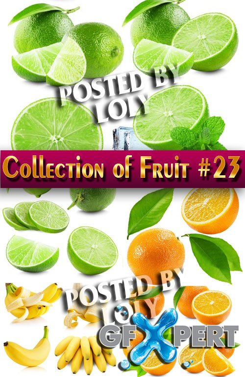 Food. Mega Collection. Fruit #23 - Stock Photo