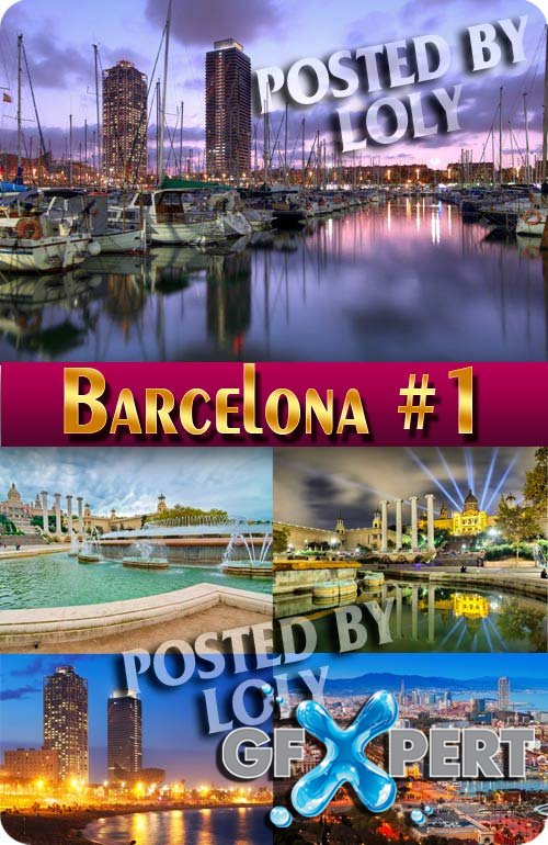 Barcelona #1 - Stock Photo