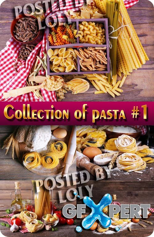 Food. Mega Collection. Pasta #1 - Stock Photo