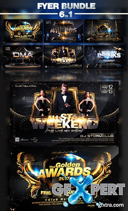 Graphicriver Flyer Bundle 10580102
